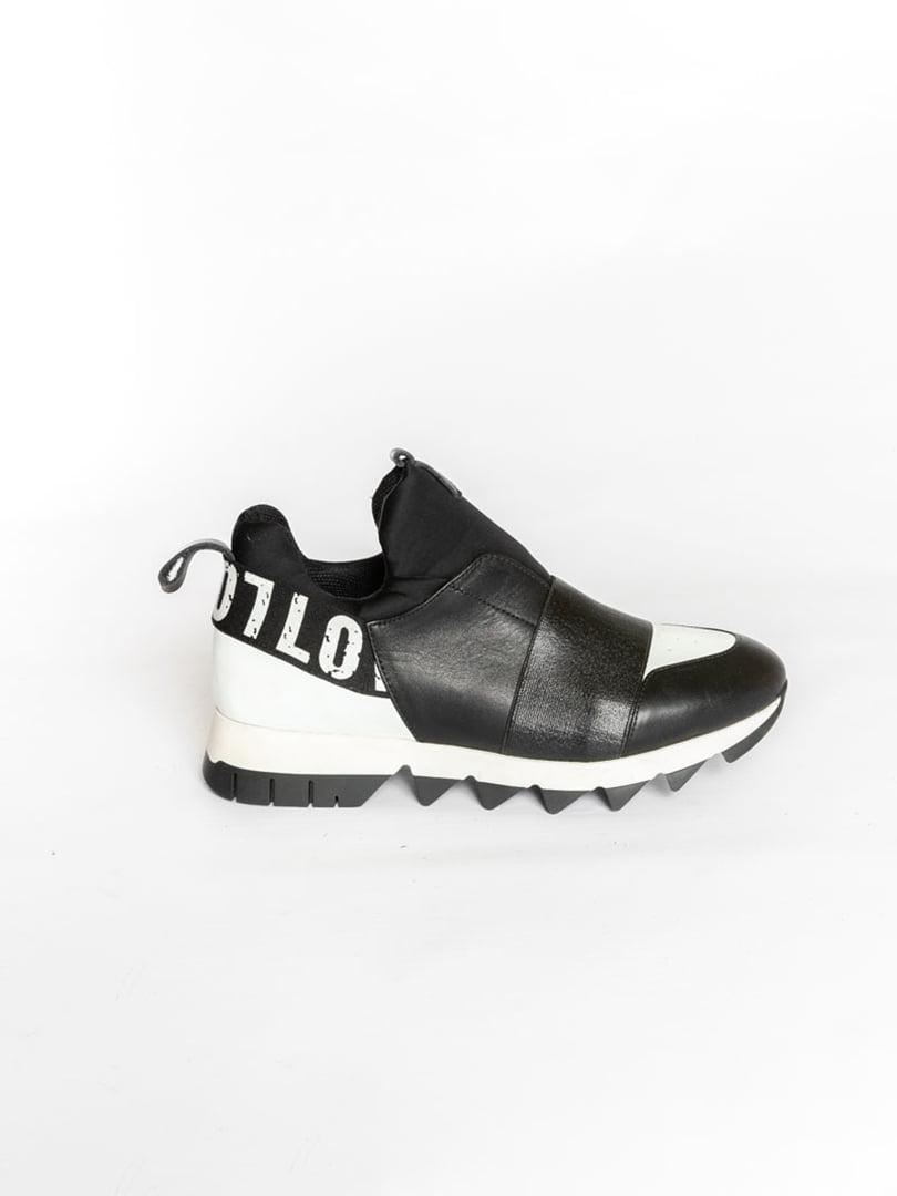 Кроссовки черные | 4822599 | фото 3