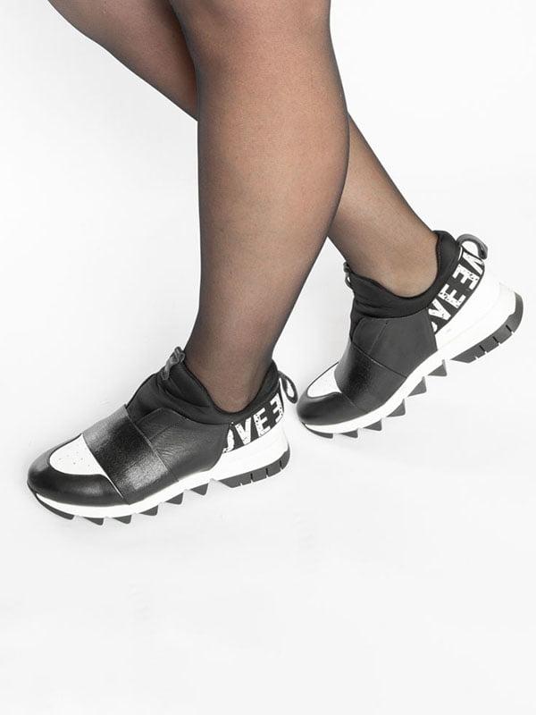 Кроссовки черные | 4822599 | фото 5