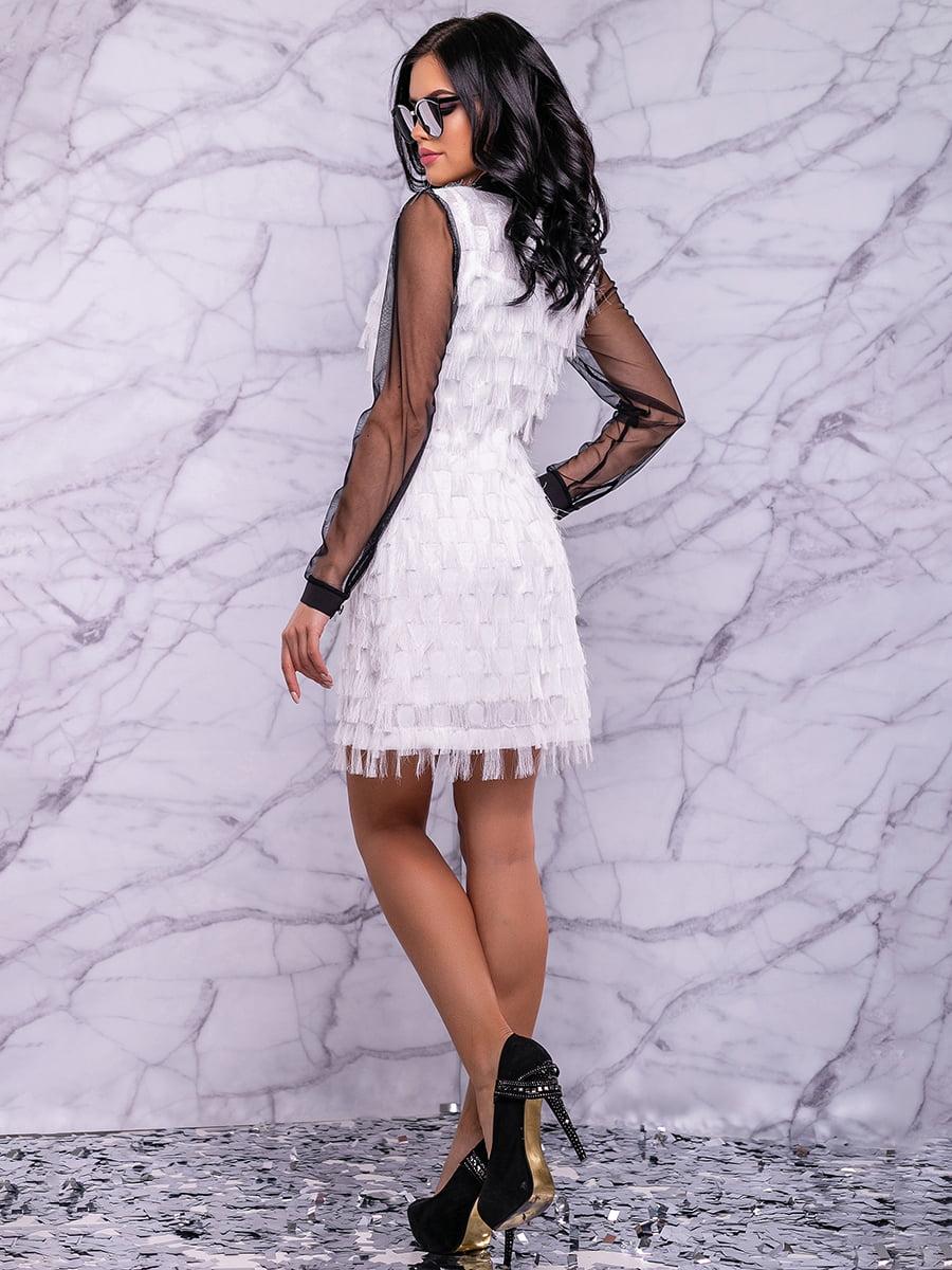 Сукня біло-чорна | 4822884 | фото 8