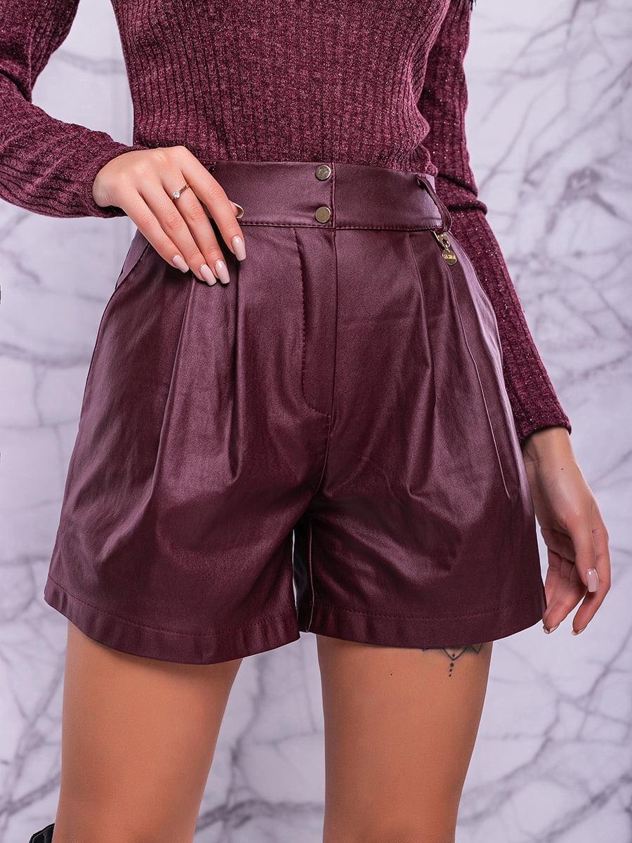 Спідниця-шорти кольору марсала | 4822906 | фото 5