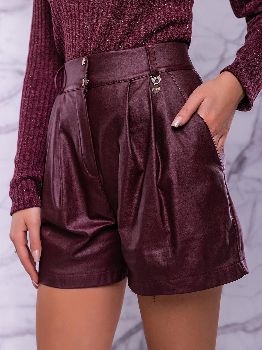 Спідниця-шорти кольору марсала | 4822906 | фото 6