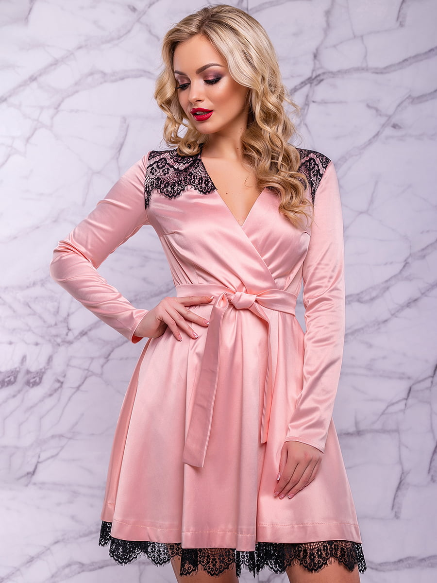 Платье персикового цвета | 4822907