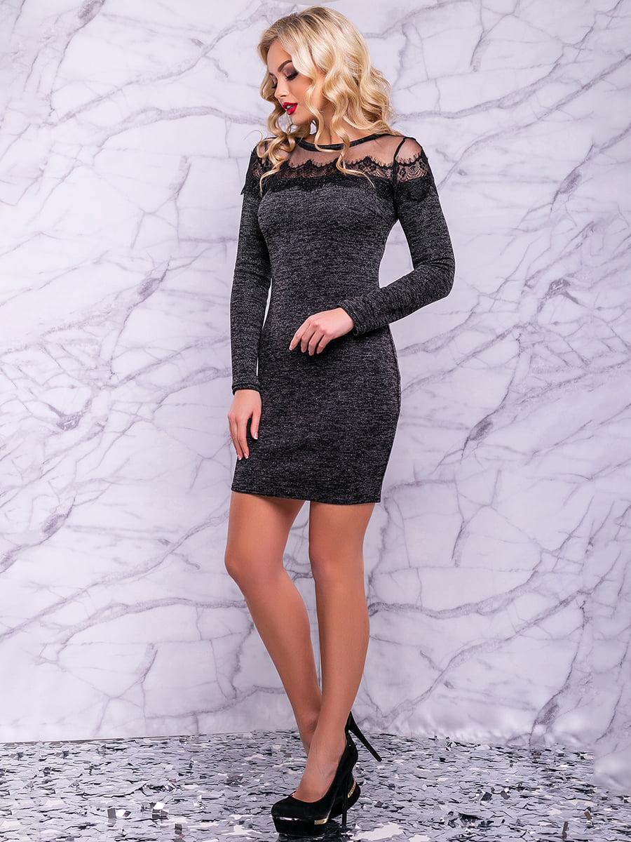 Сукня чорна | 4822917 | фото 6