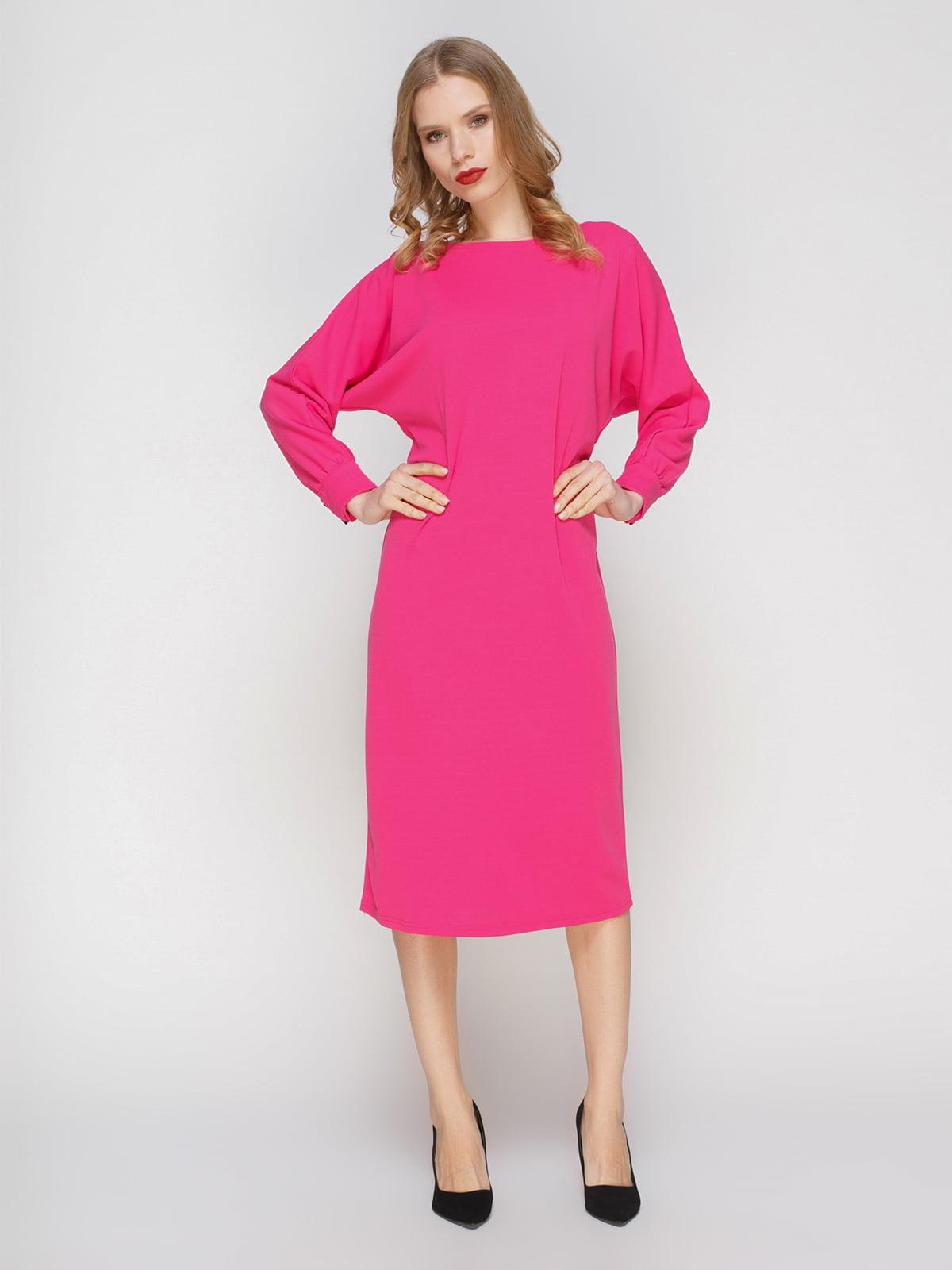 Сукня кольору фуксії | 2056244