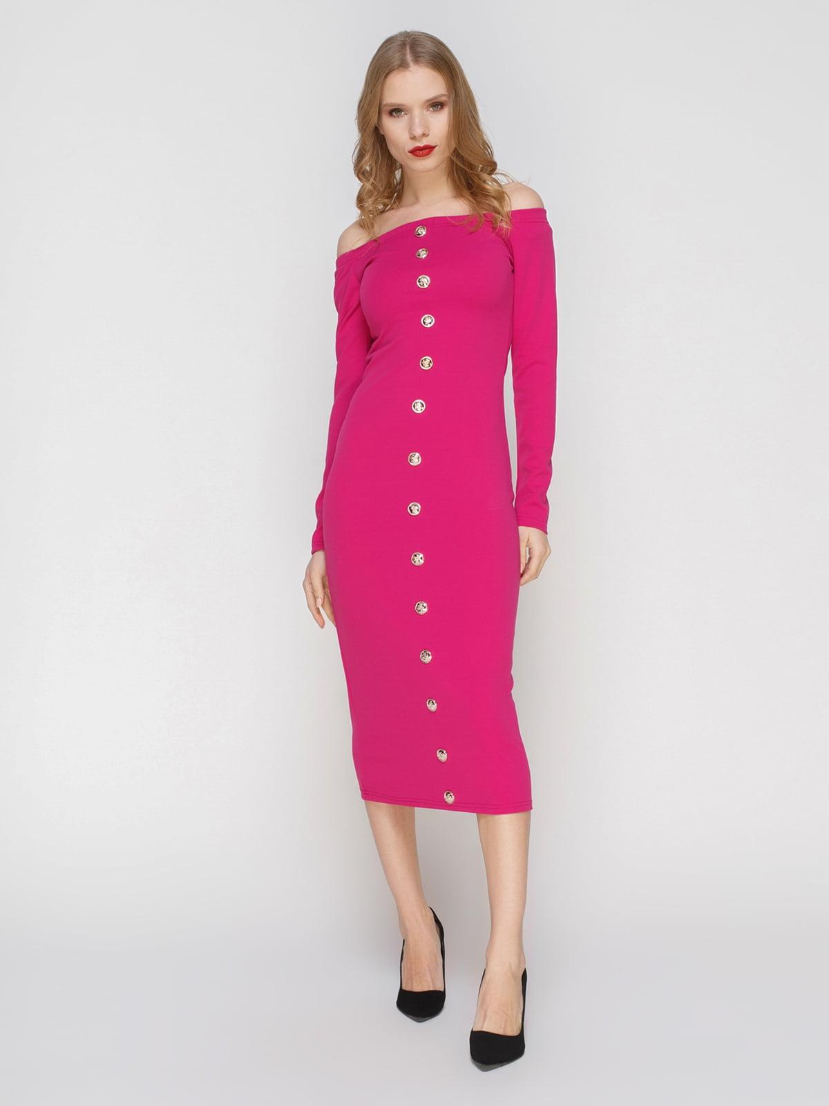 Сукня малинового кольору | 2121427