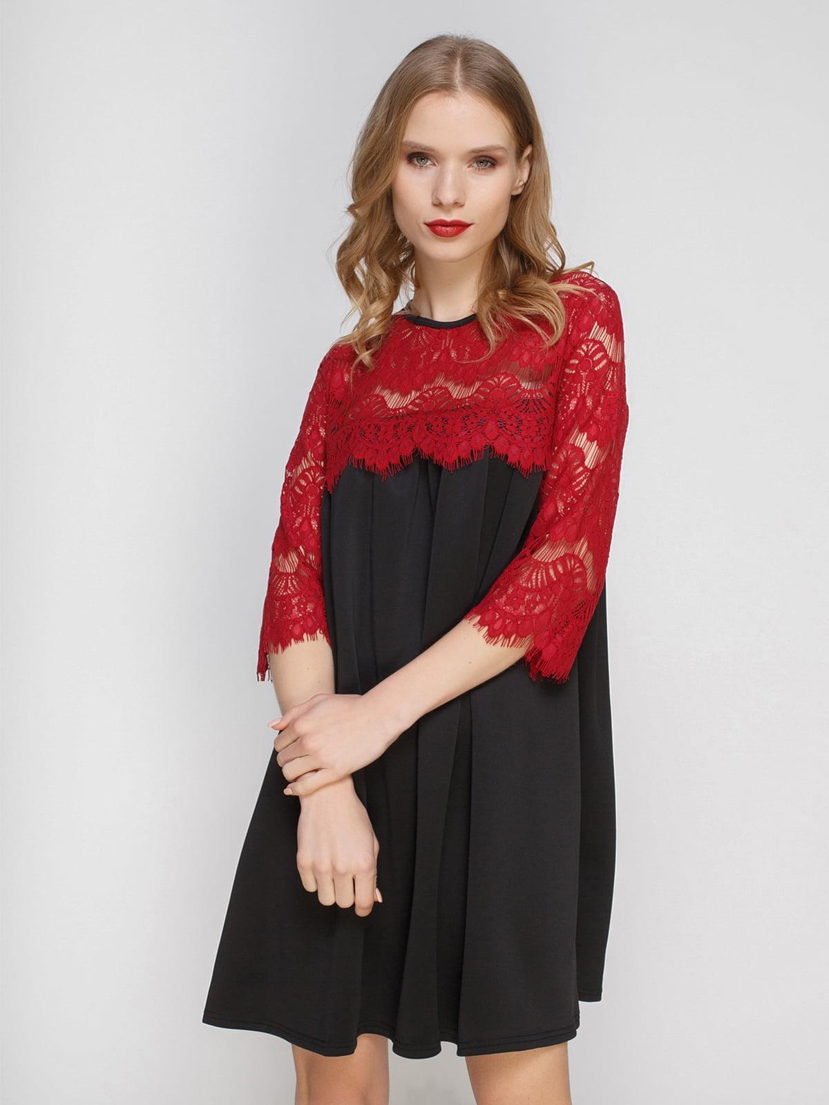 Платье двухцветное | 2959609