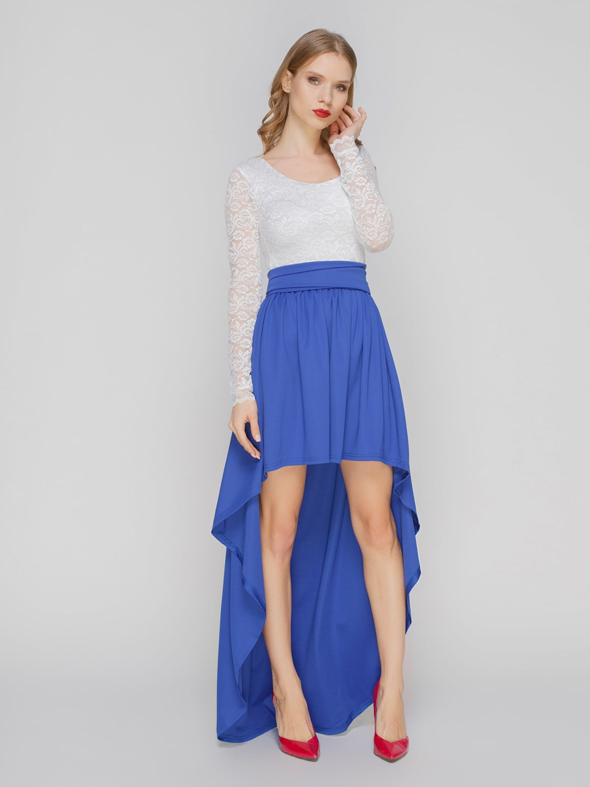 Сукня синьо-біла | 2003620