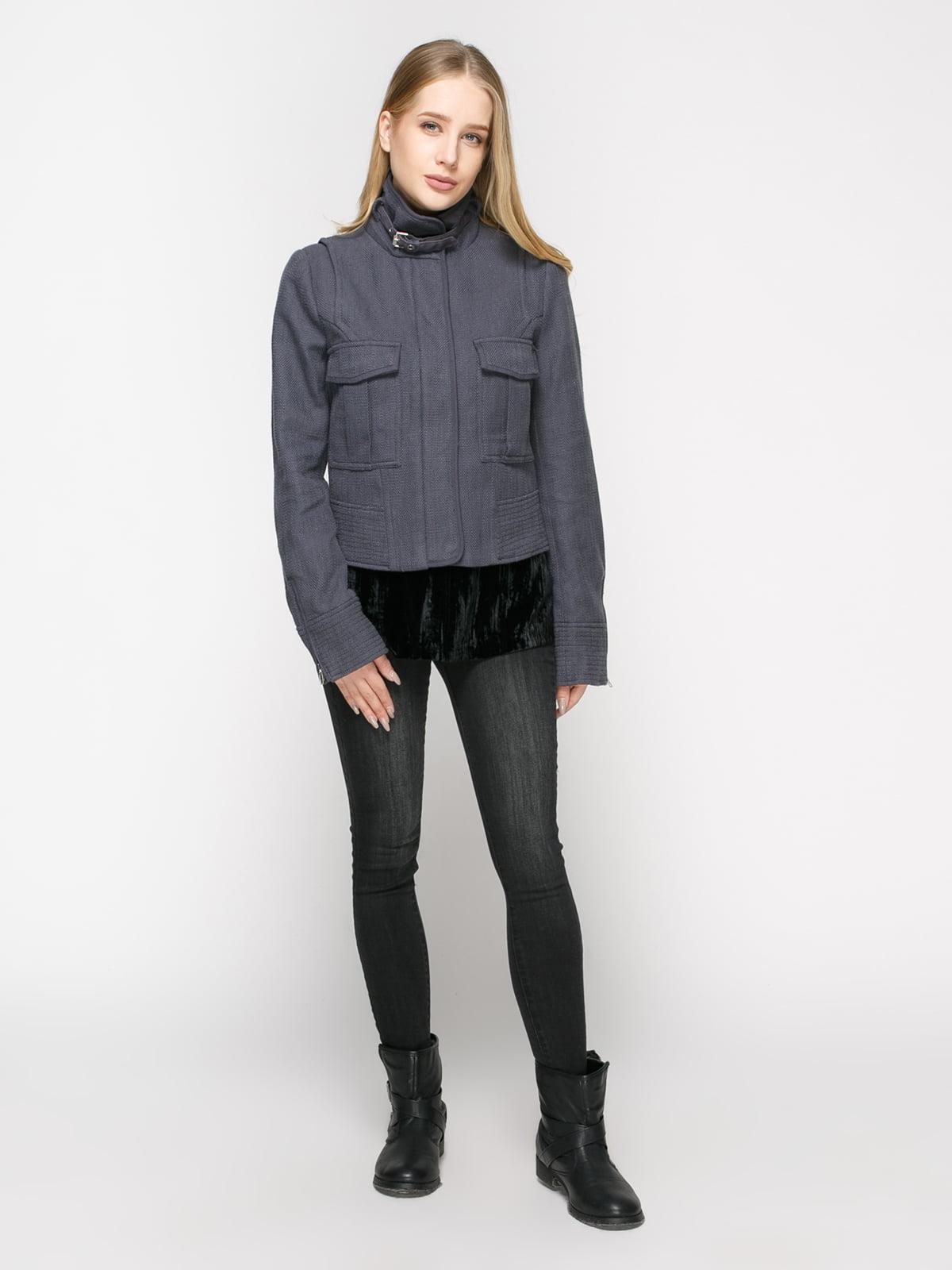 Куртка сіра | 4807818 | фото 2