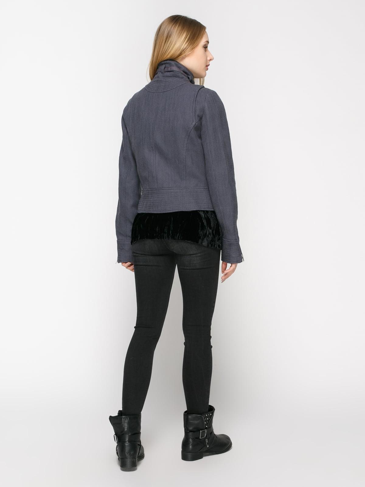 Куртка сіра | 4807818 | фото 3