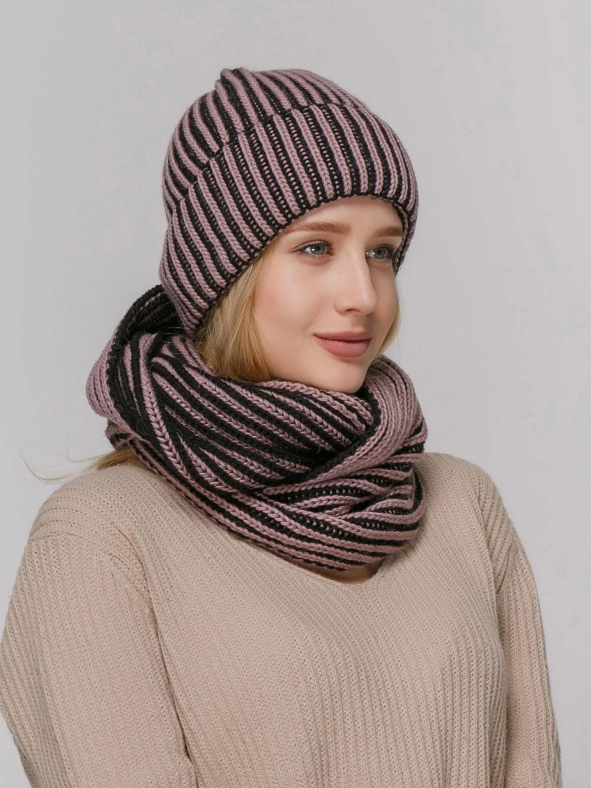 Комплект: шапка і шарф | 4732666