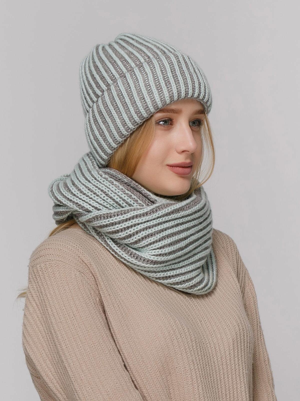 Комплект: шапка і шарф | 4732667