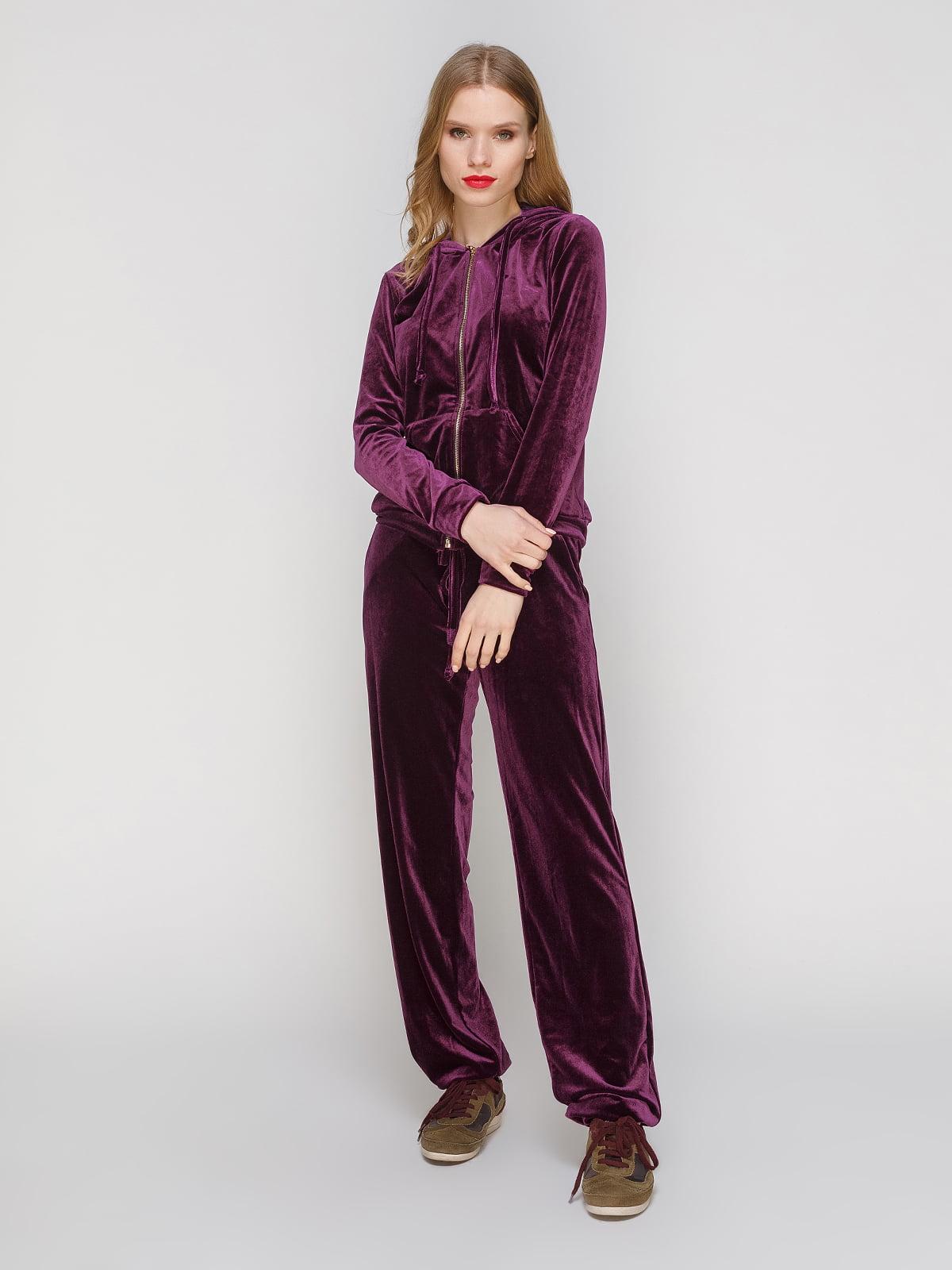 Костюм оксамитовий: кофта і штани | 3182346