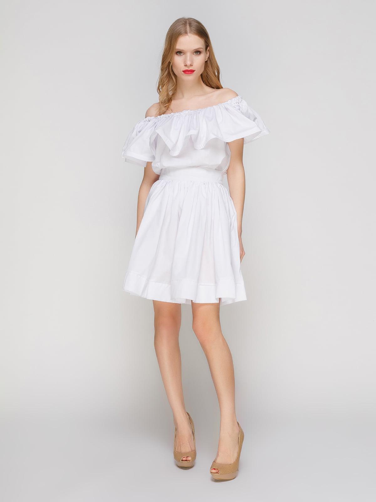 Костюм: блуза і спідниця | 2293439