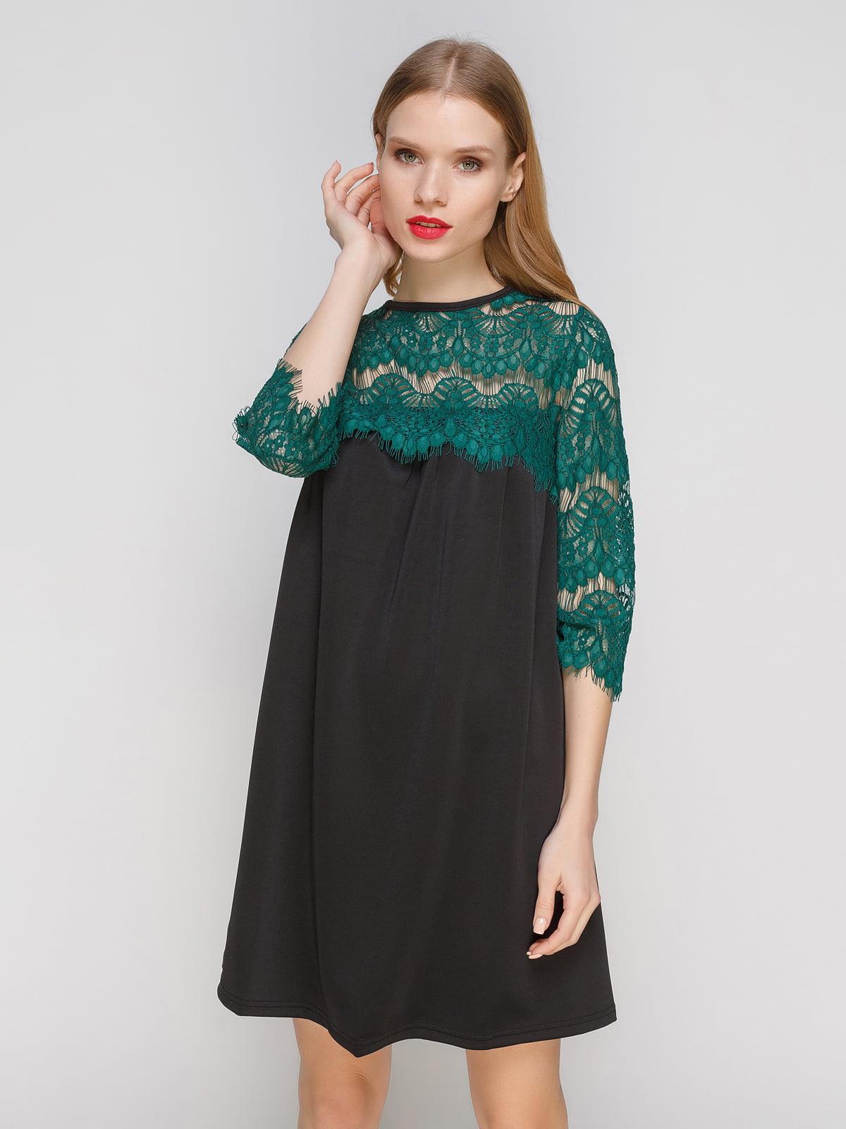 Платье двухцветное | 2959608