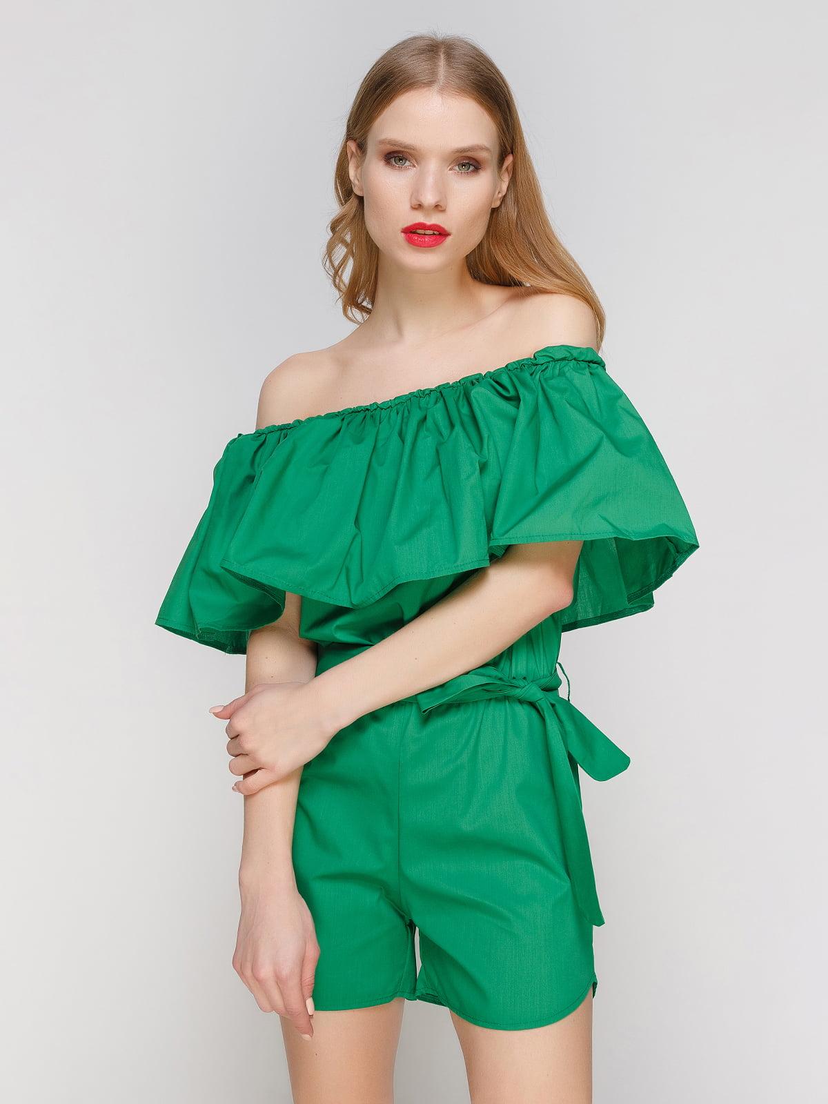 Комбинезон зеленый | 3361630