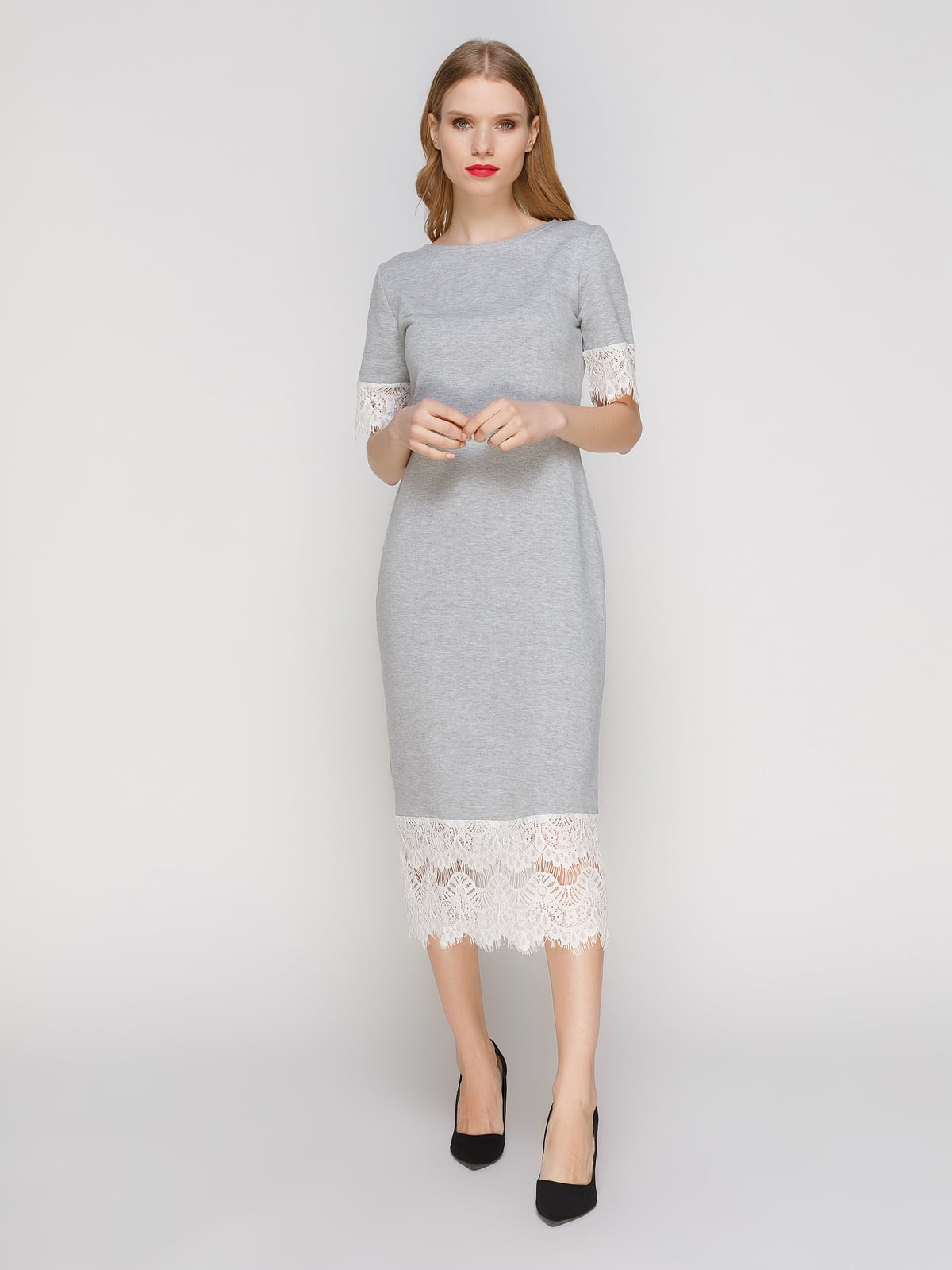 Сукня сіра | 3182334