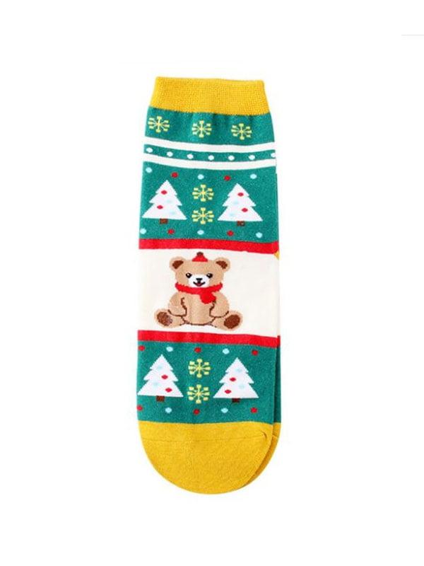 Носки с рисунком подростковые   4820851