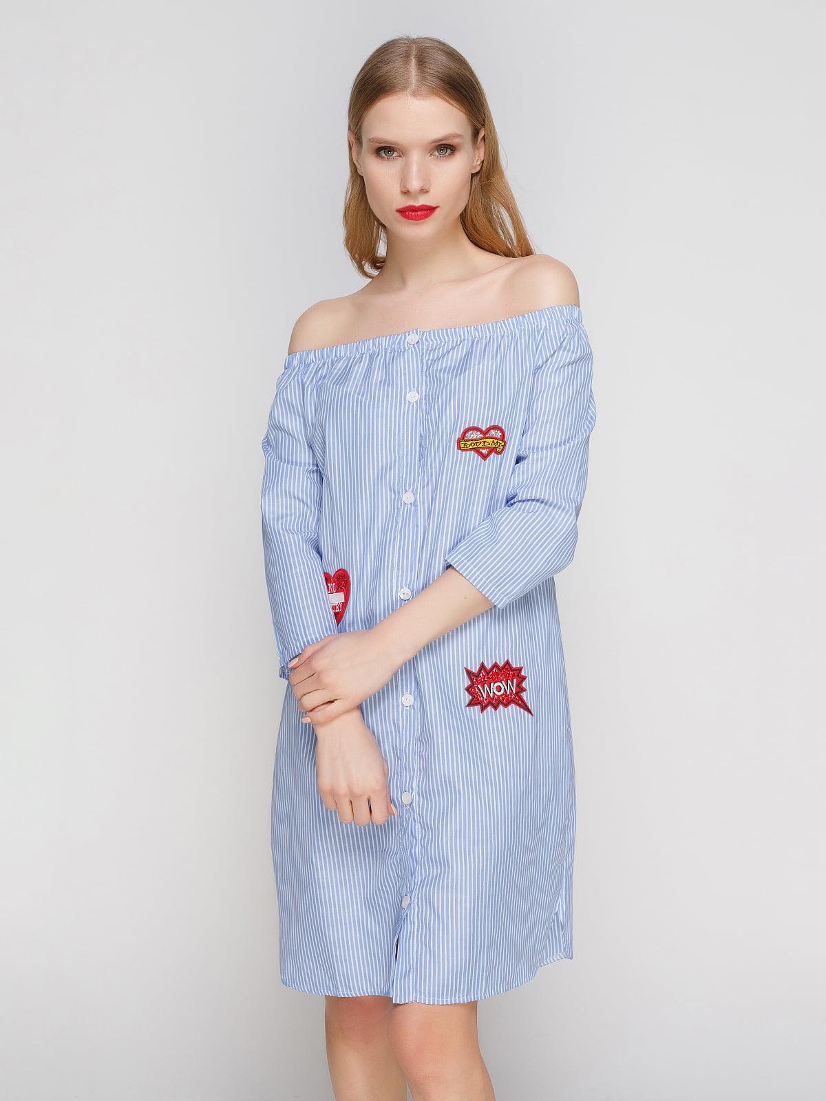 fc5185eec01 Платье-рубашка в полоску — CELEBRITY