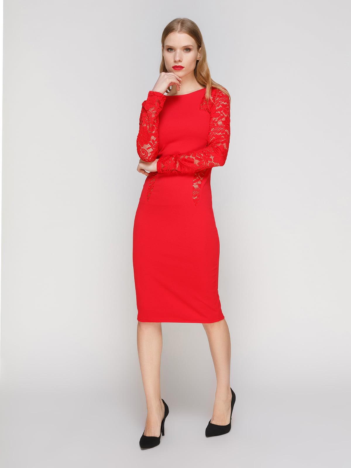 Платье красное | 2121443