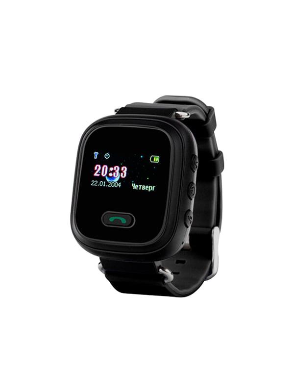 Дитячий розумний годинник з GPS трекером GW900 (Q60) Black — Motto ... fdb3c8ba03390