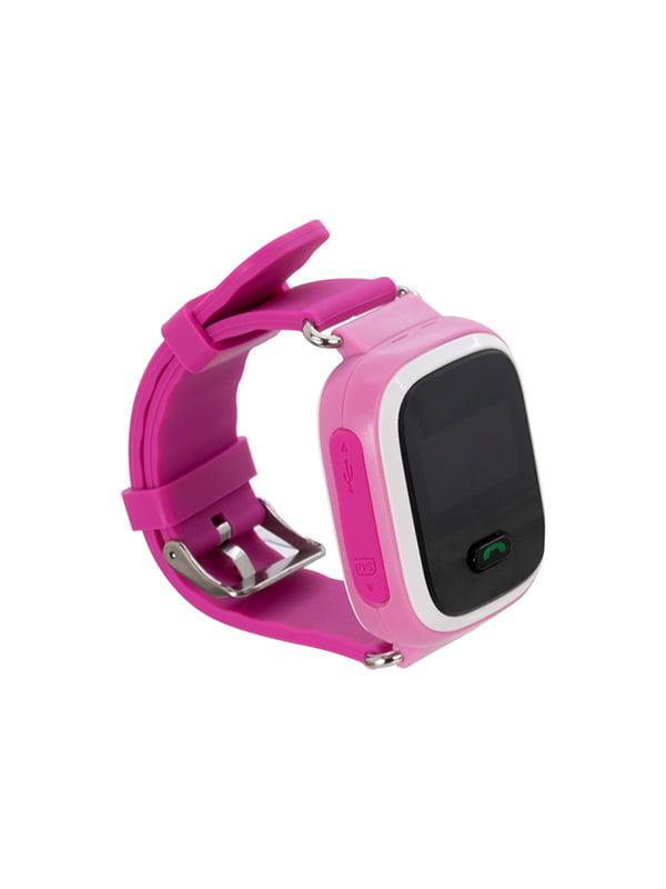 Дитячий розумний годинник з GPS трекером GW900 (Q60) Pink — Motto ... 2273a956aeb40