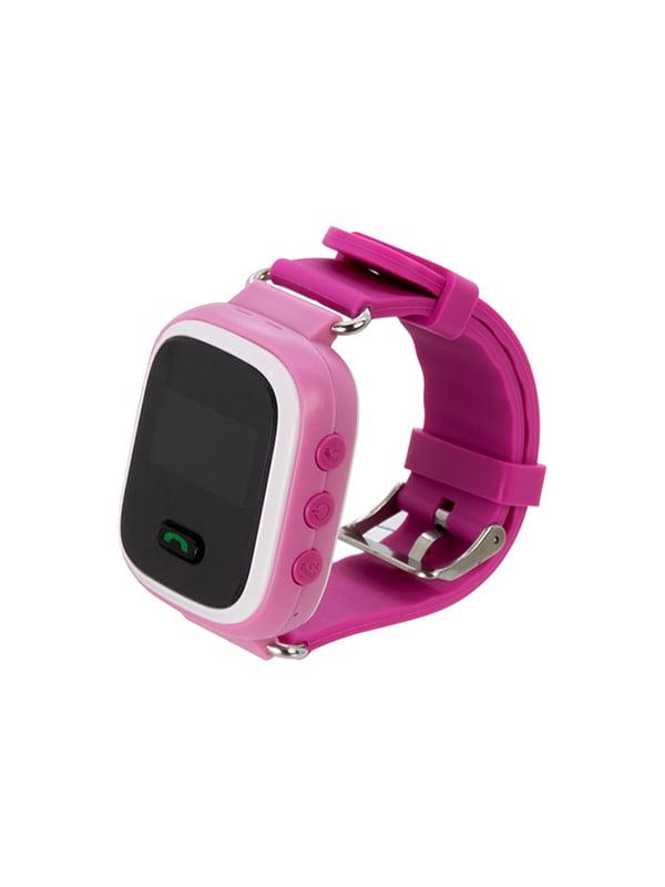 Дитячий розумний годинник з GPS трекером GW900 (Q60) Pink — Motto ... 6ac553514c87a