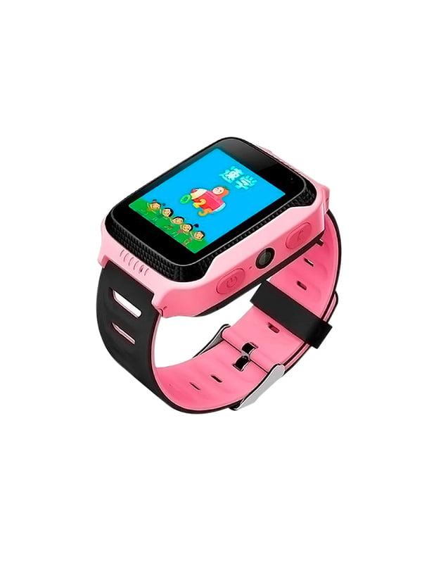 Дитячий розумний годинник з GPS трекером G900A (Q65) Pink — Motto ... 68c7c36d60b00