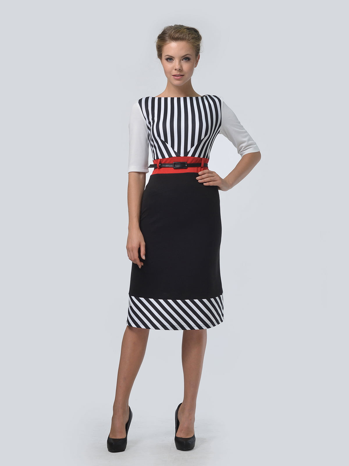 Платье в полоску | 4825271