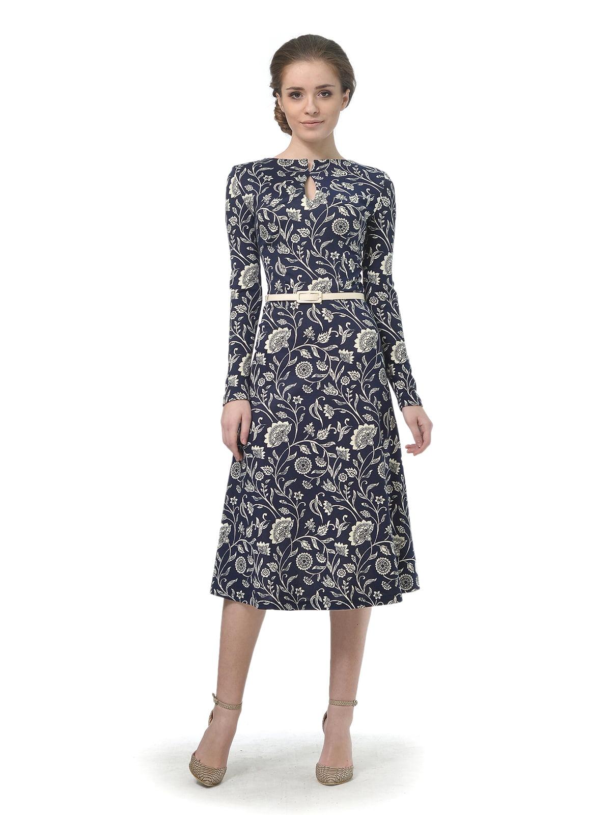 Сукня в квітковий принт | 4825253