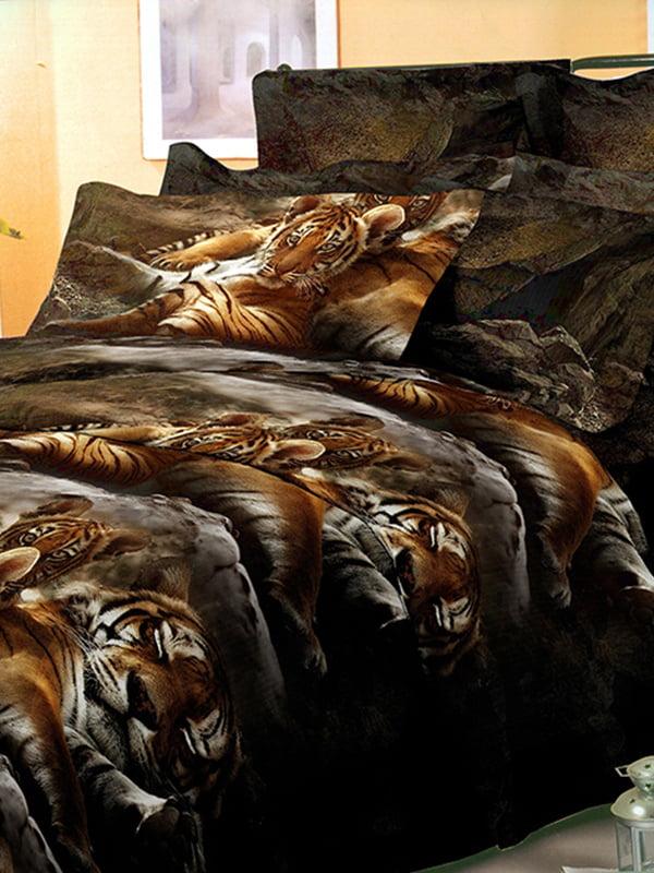 Комплект постельного белья семейный | 4824910
