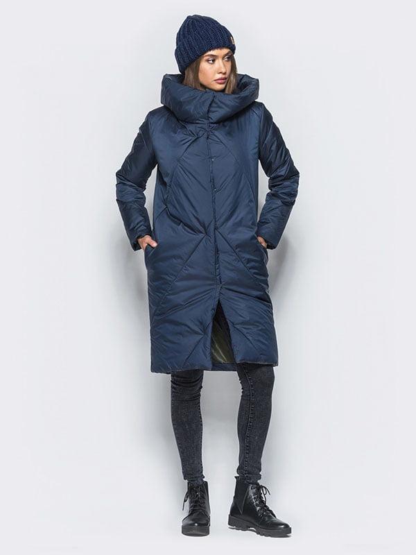 Пальто синее | 4680272