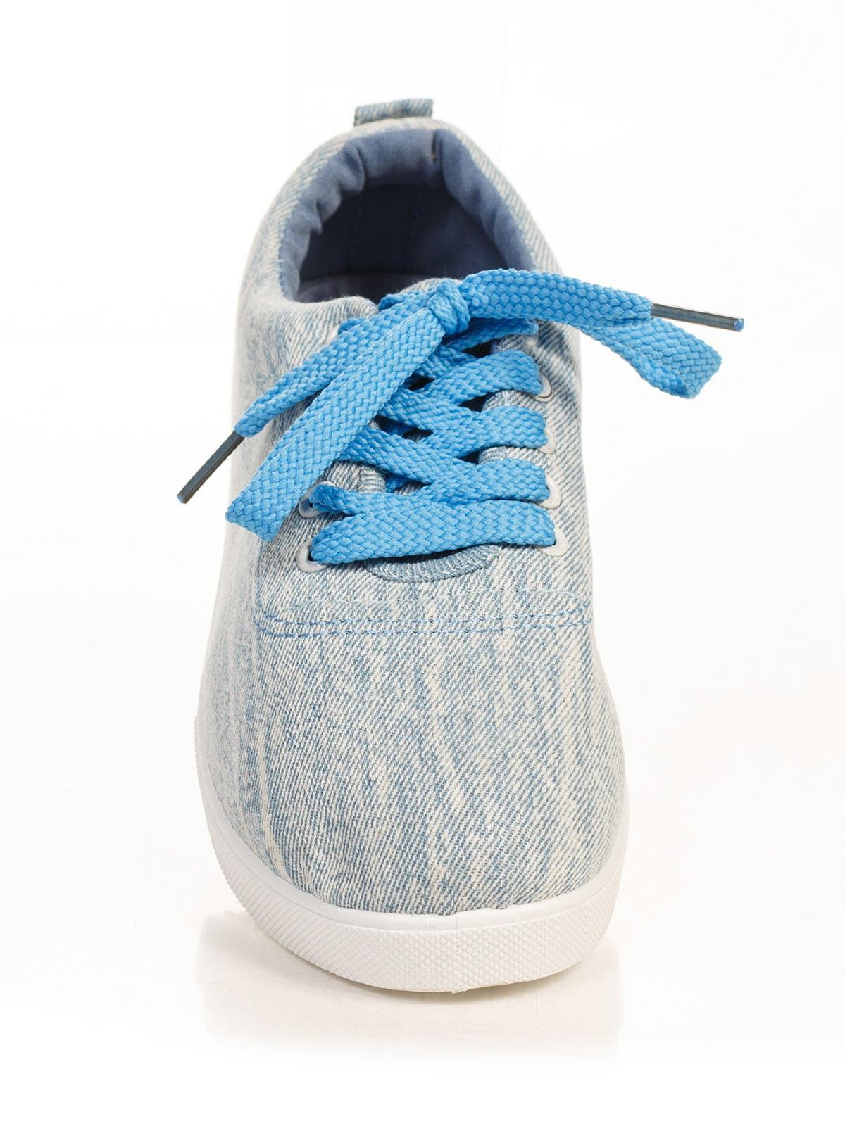 Кеды голубые | 4778834 | фото 4