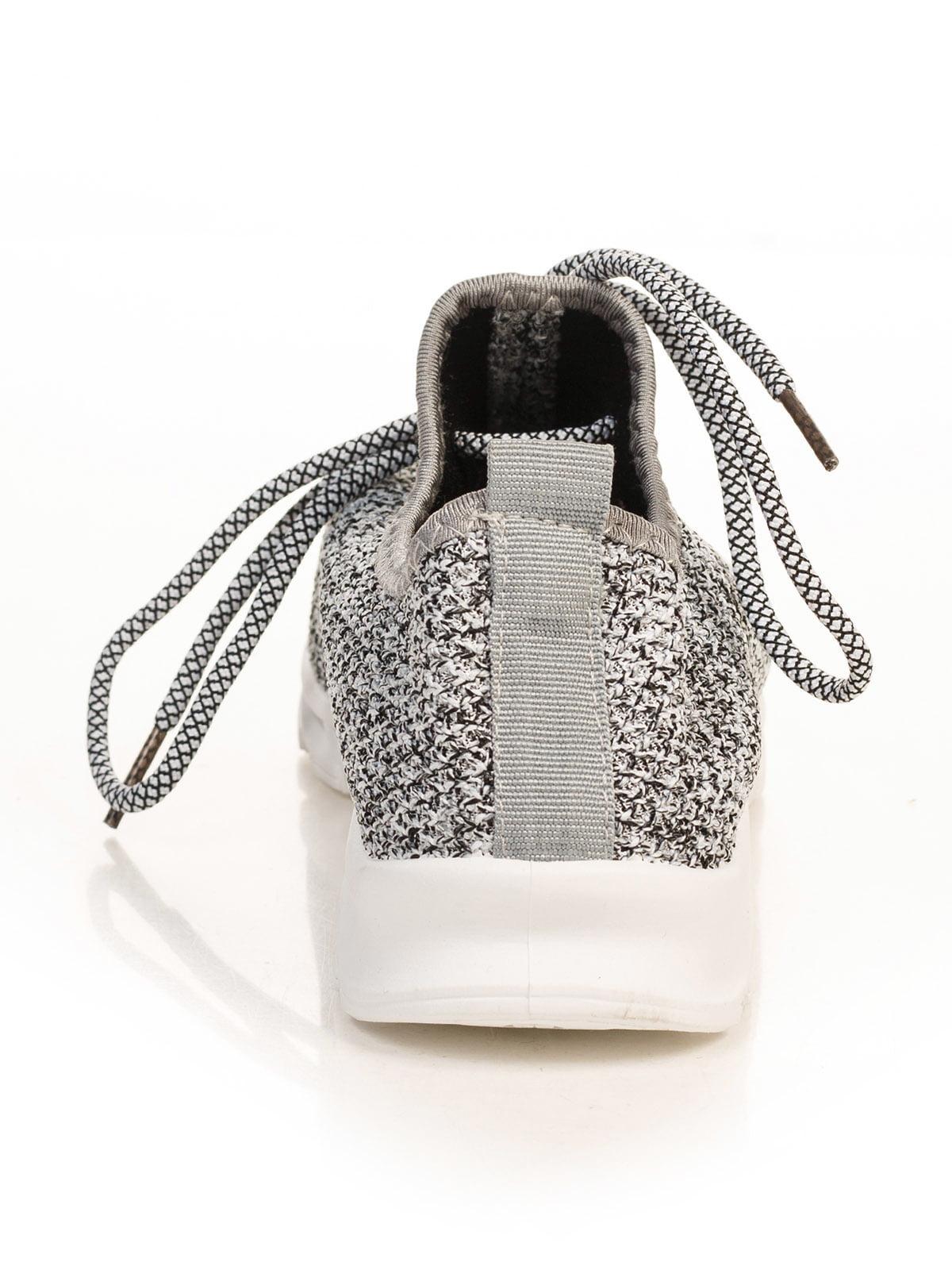 Кроссовки черно-белые | 4784868 | фото 3