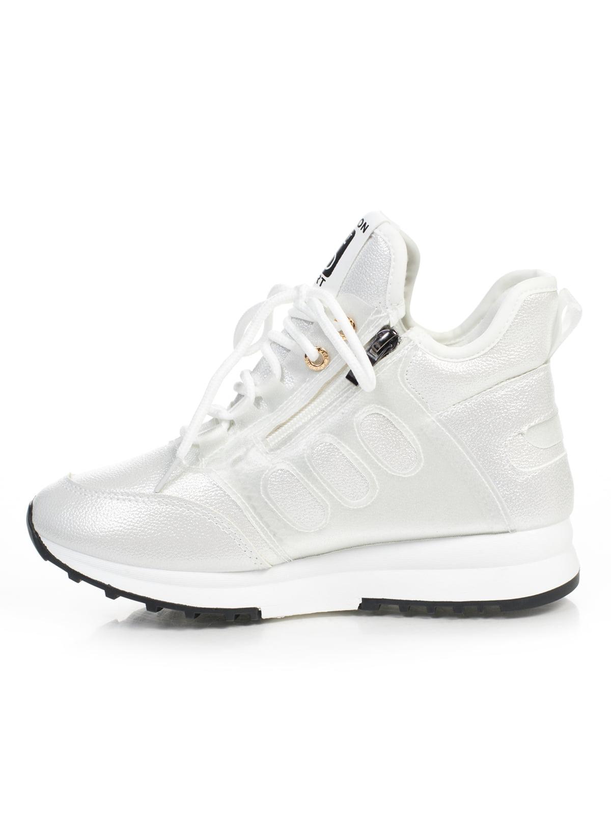 Кроссовки белые | 4826046 | фото 2