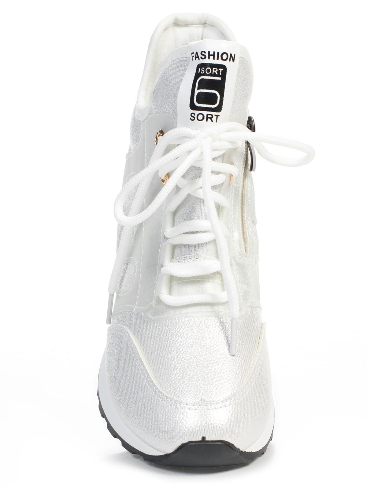 Кроссовки белые | 4826046 | фото 4