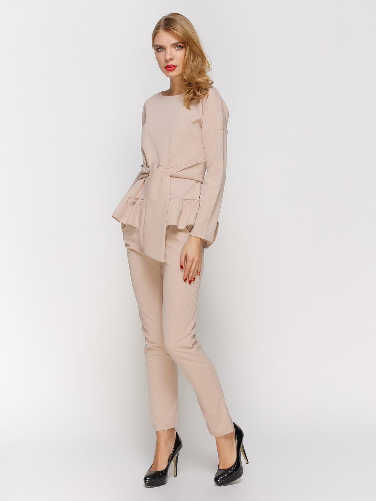 Костюм: блуза і штани | 2121415