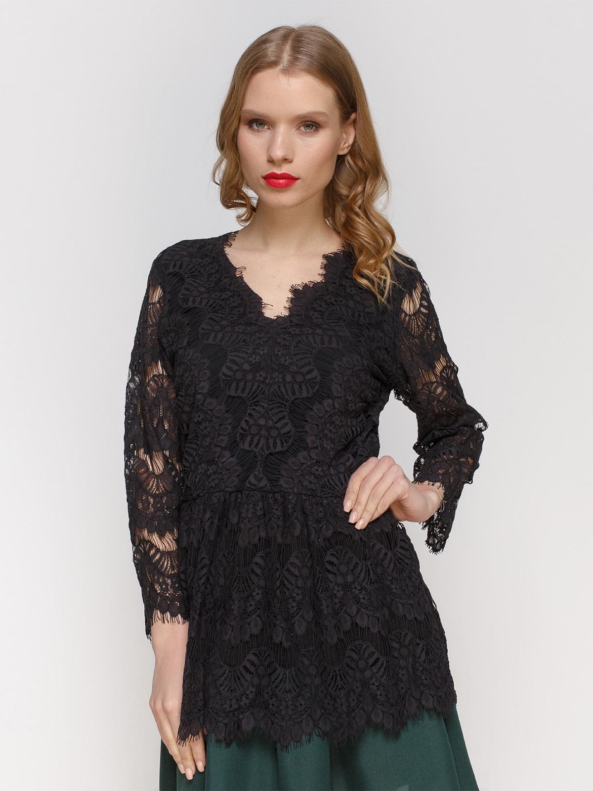 Блуза чорна | 2877950