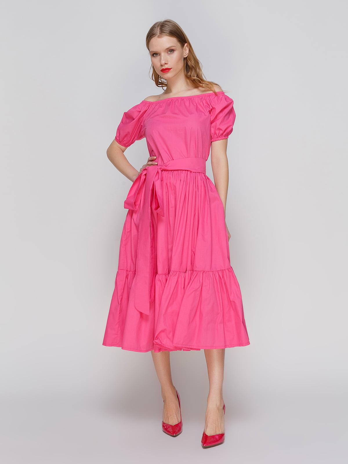 Платье малинового цвета | 2293463
