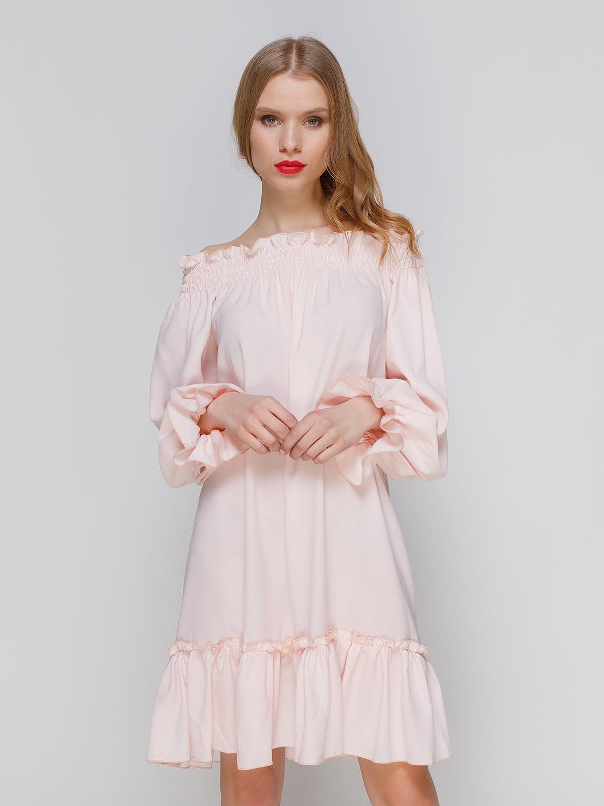 Платье розовое | 3361618