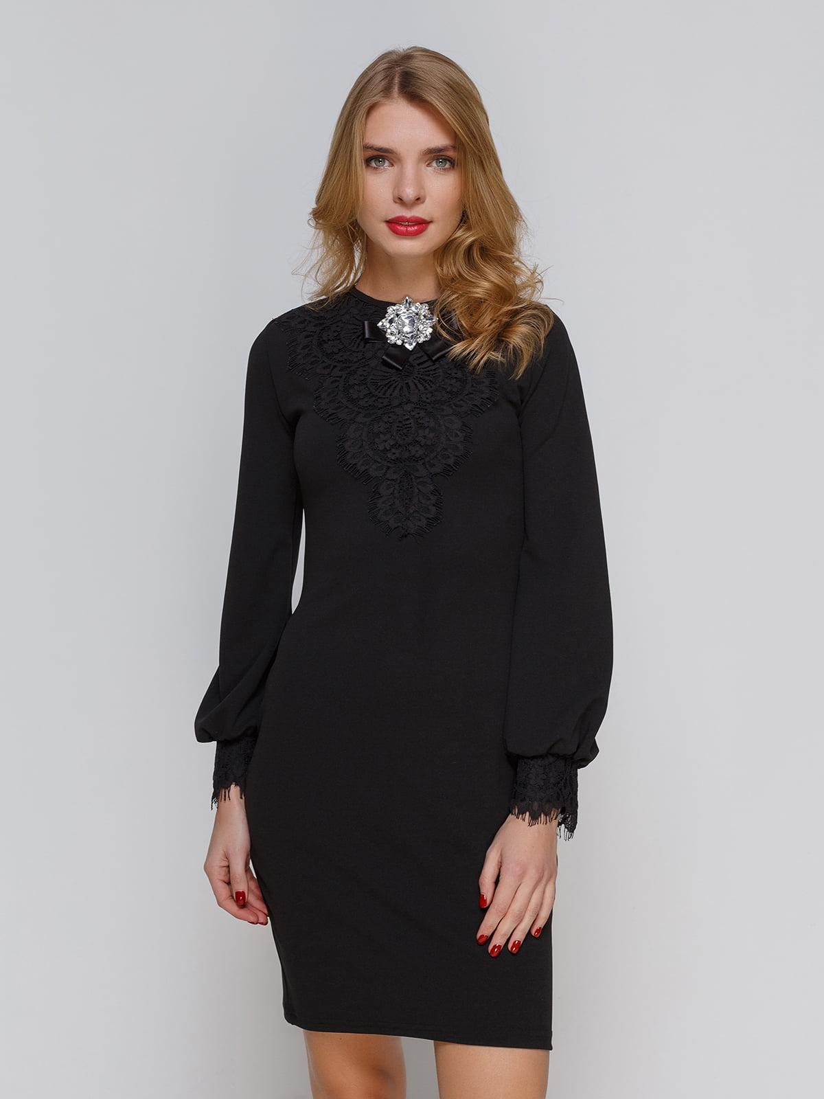 Платье черное | 3182325