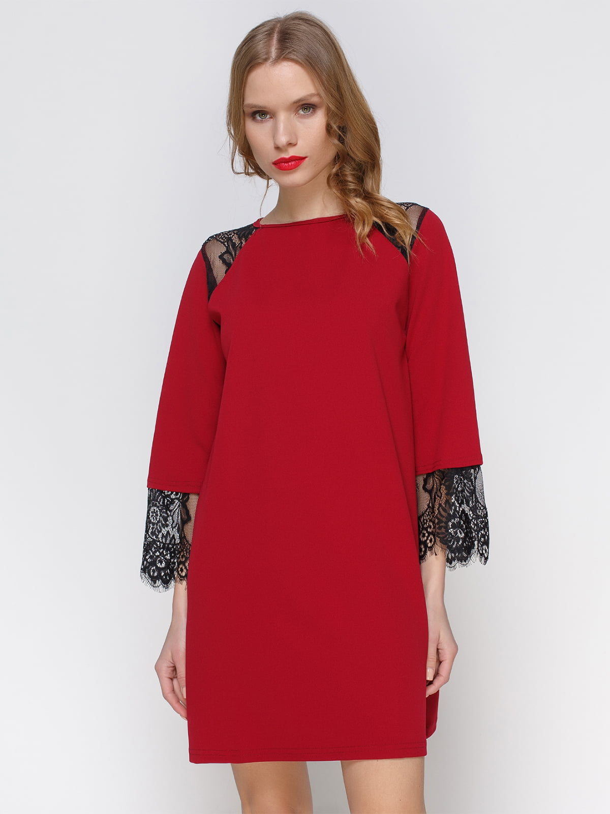 Сукня кольору марсала   3045917