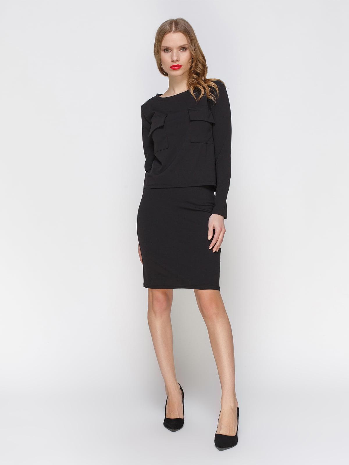 Костюм: блуза і спідниця | 2056231