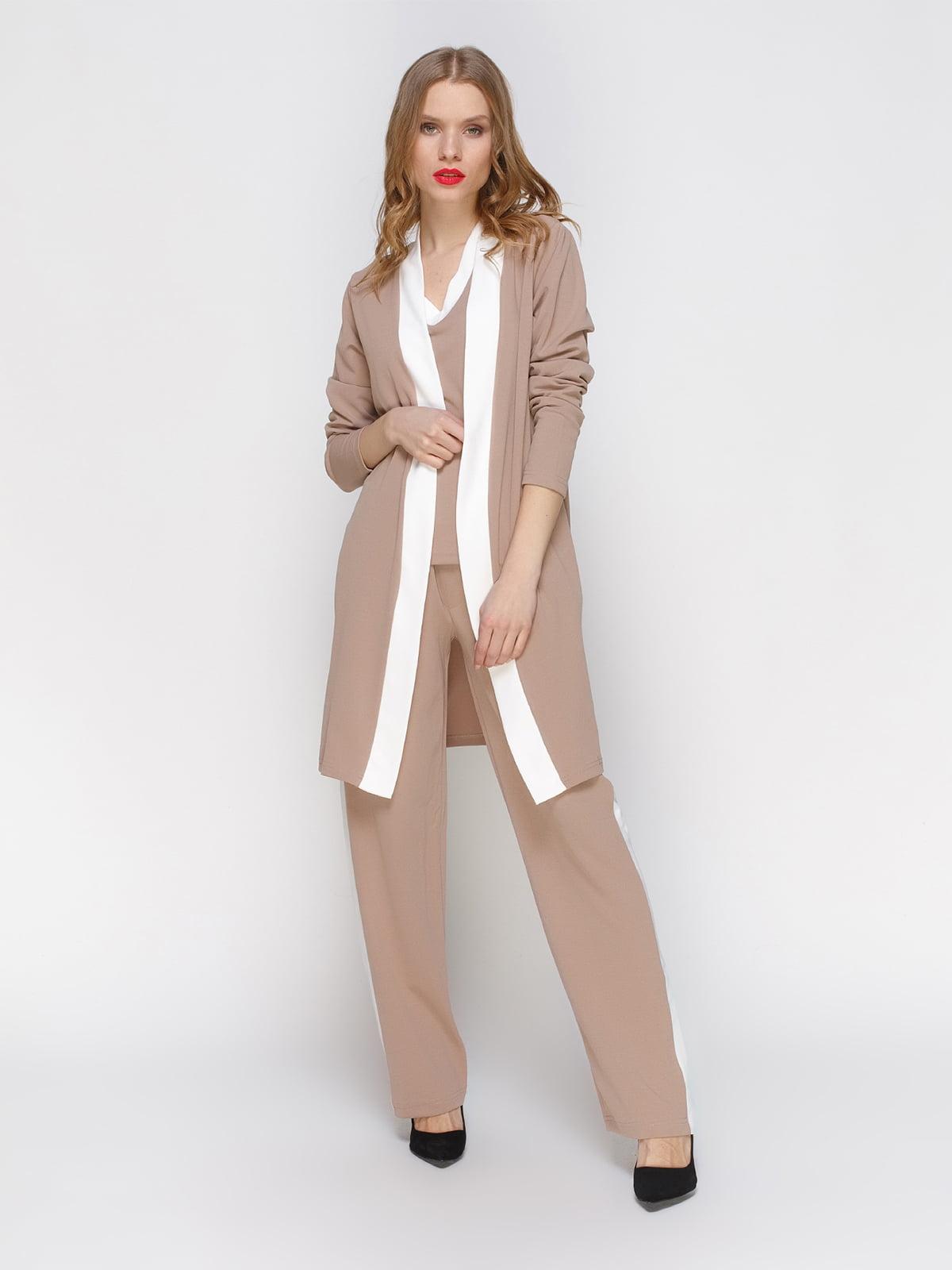 Костюм: штани, кардиган і блуза | 3393752
