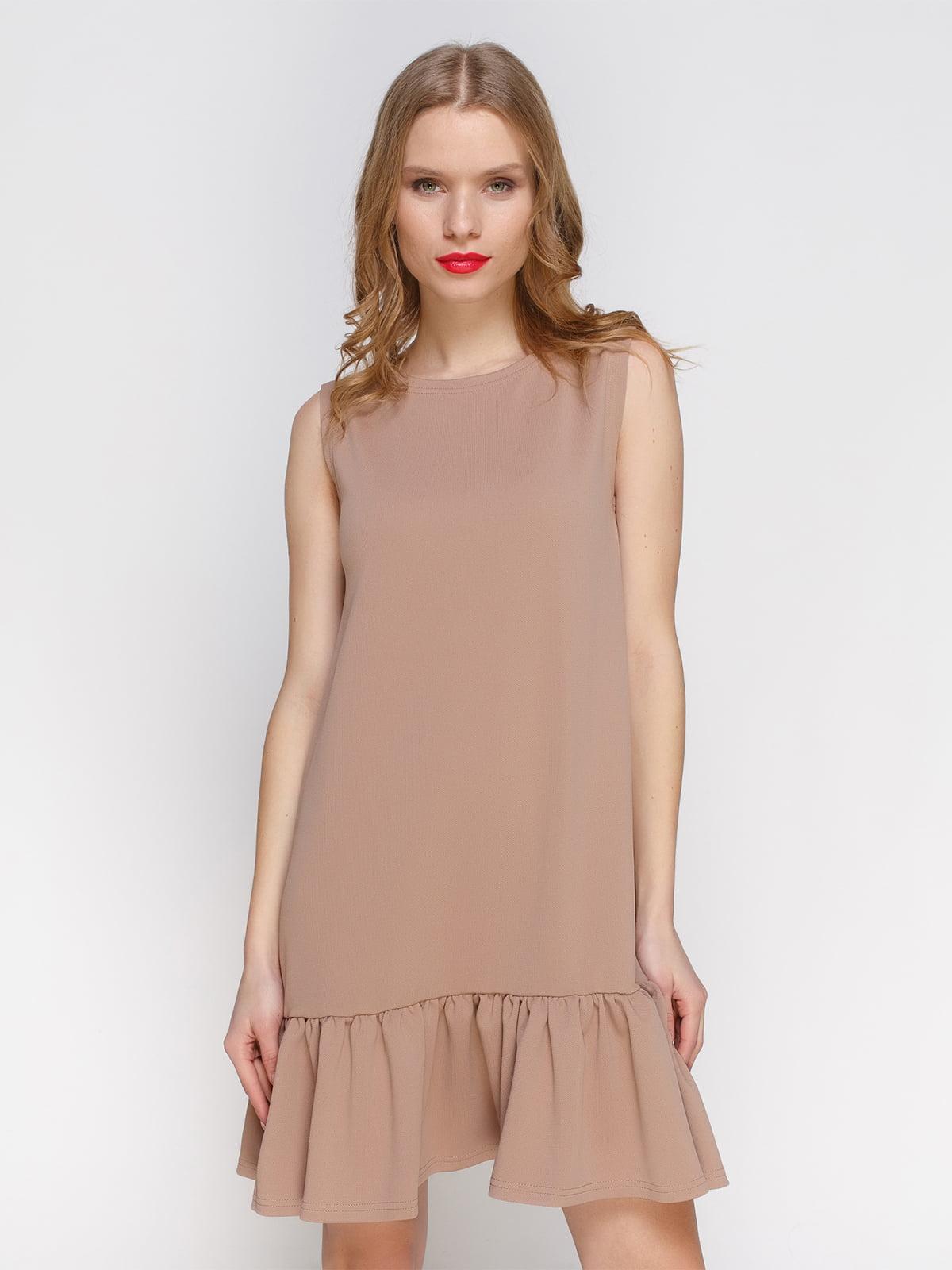 Платье бежевое | 3182315