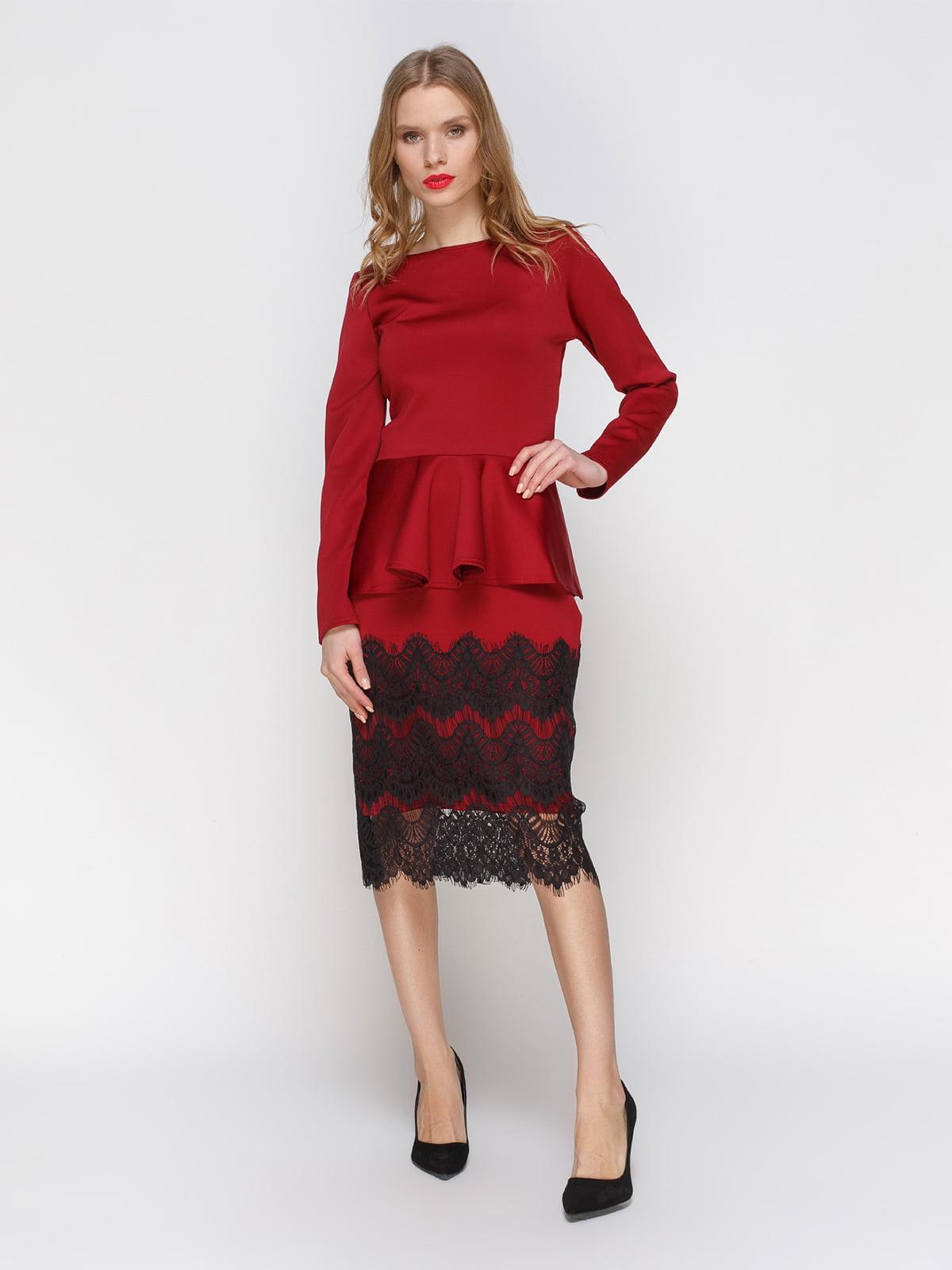 Костюм: блуза і спідниця | 3045919