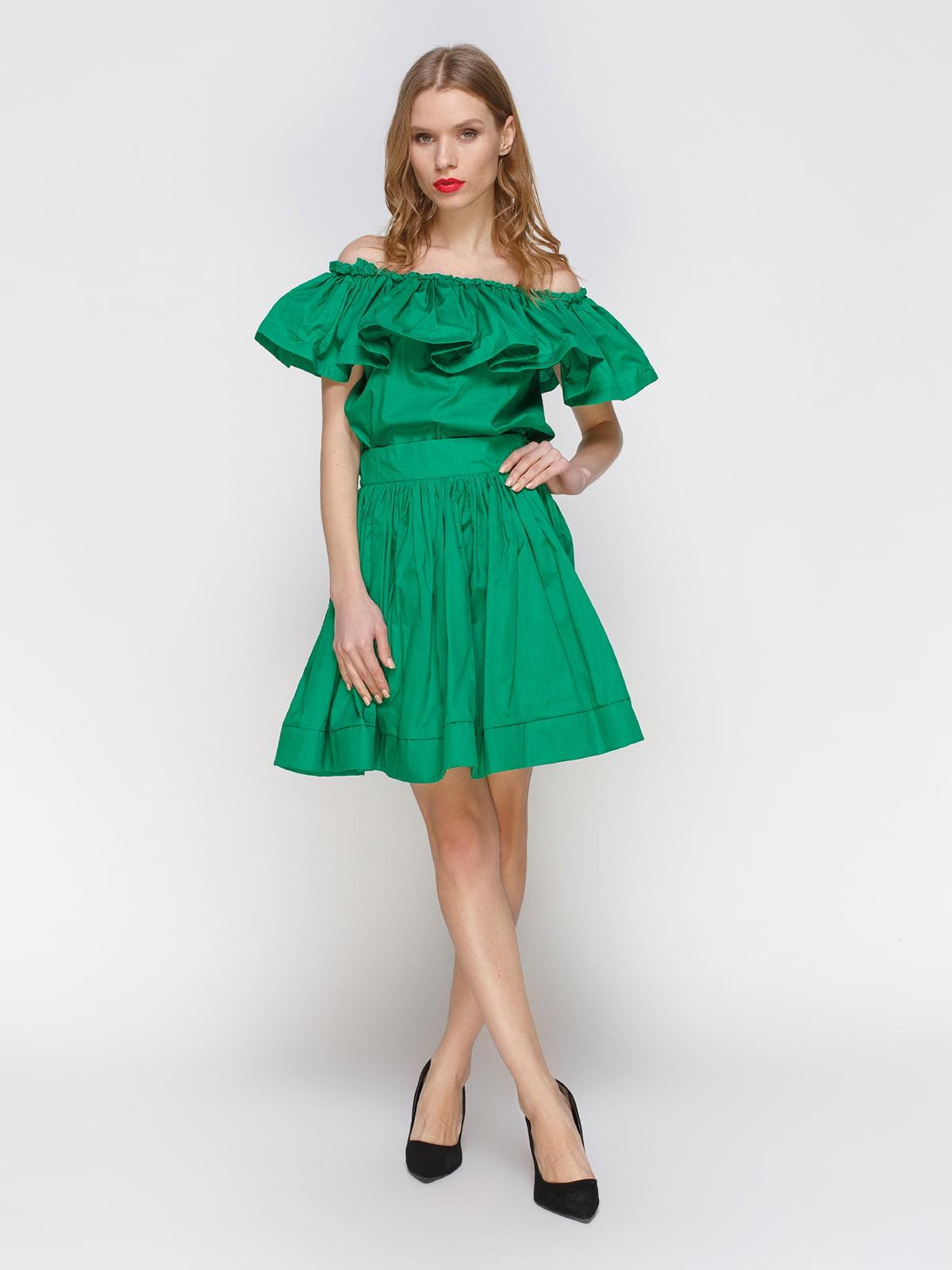 Костюм: блуза і спідниця | 2293437