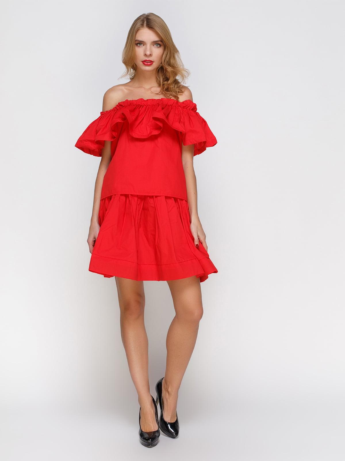 Костюм: блуза і спідниця | 2293436