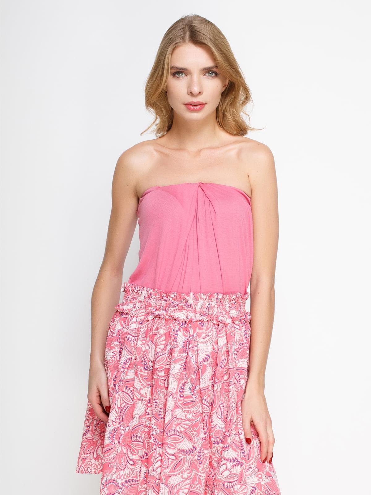 Топ-бандо рожевий | 2181055