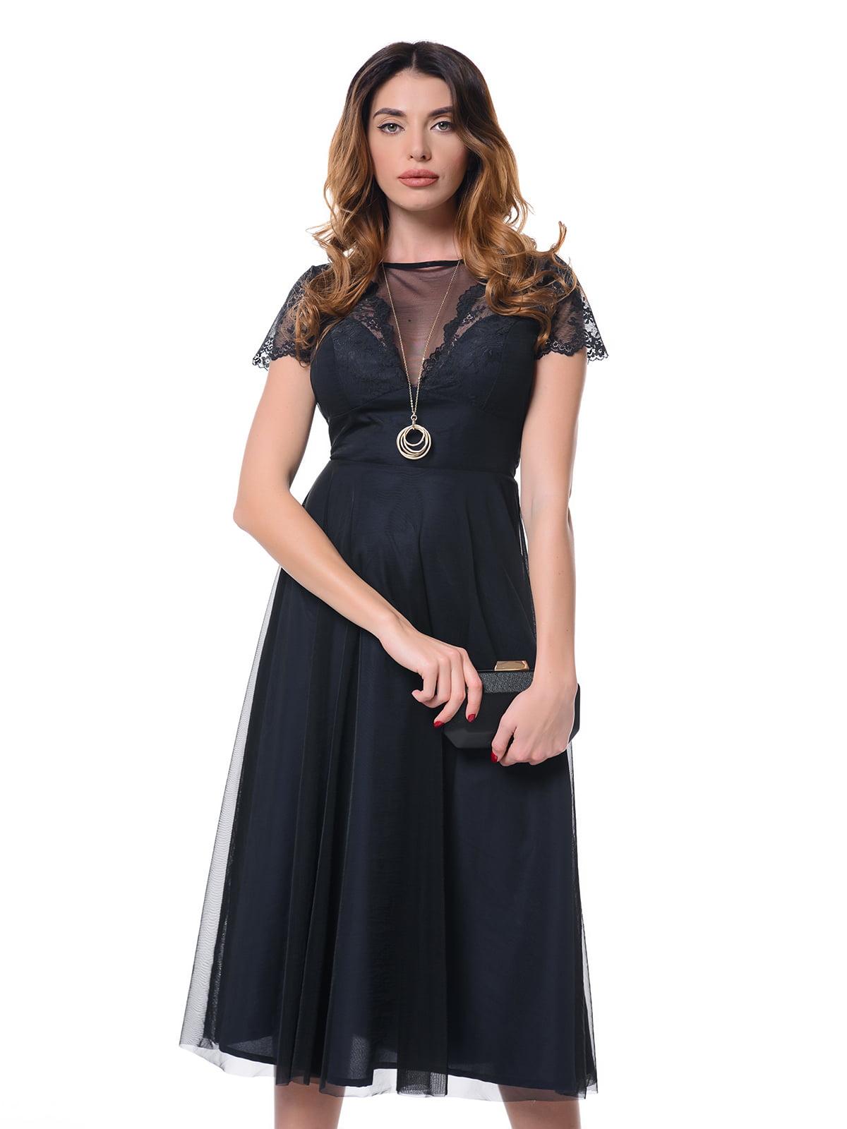 Сукня темно-синя | 4827156