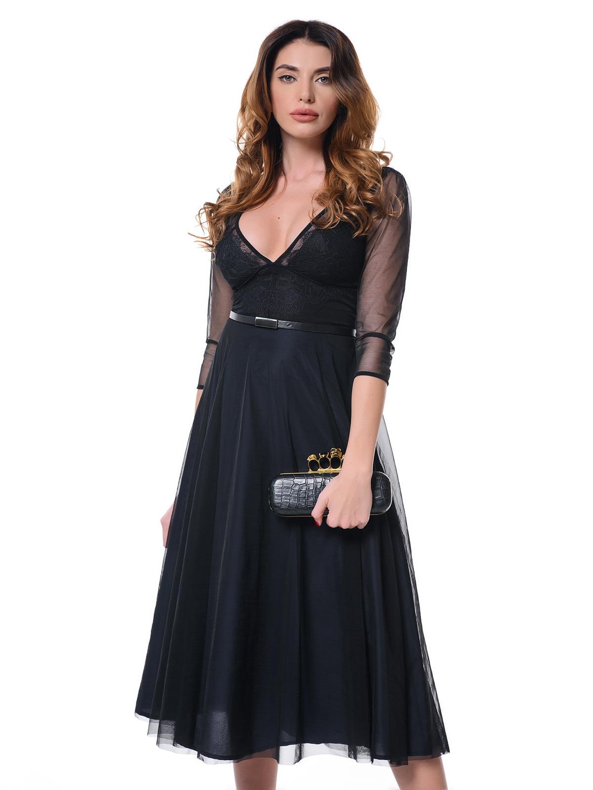 Платье темно-синее | 4827158